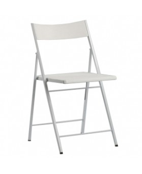 SIlla Plegable Slim Blanco
