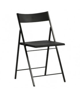 SIlla Plegable Slim Negro