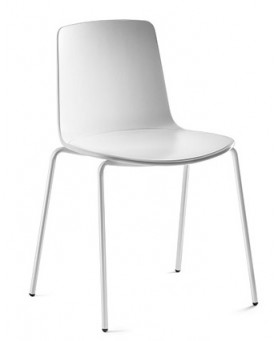 Silla Confidente Lottus Blanco
