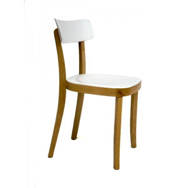 silla de dise o combi madera