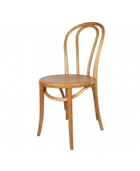 silla thonet asiento madera y barniz natural