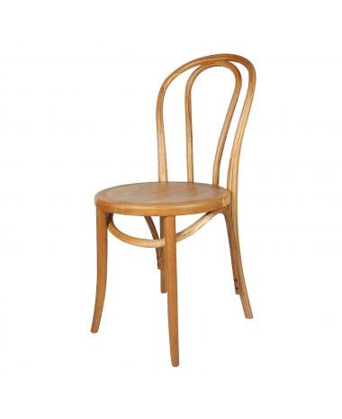 silla madera thonet natural