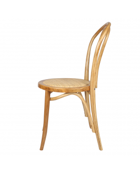 silla madera thonet rattan