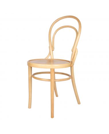 silla madera thonet curva natural