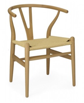 Silla Nórdica Rep. CH 24 Wishbone Natural