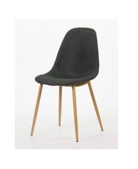 6 sillas PLM gris portes a Francia incluido