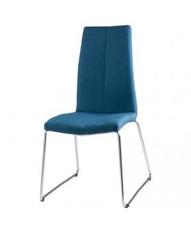 Silla diseño Arosa azul dark