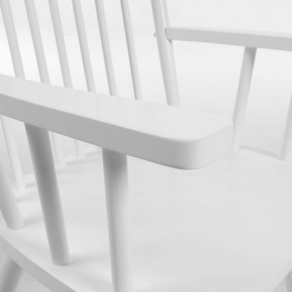 Mecedora kennedy blanca - Mecedora madera blanca ...