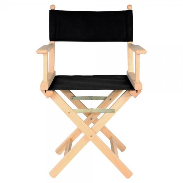 silla plegable de director loneta negra On sillas de director plegables