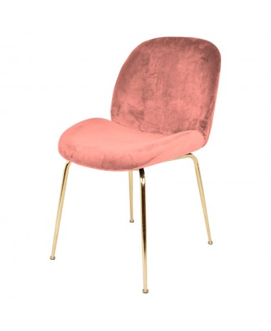 Silla vintage Sundey pink