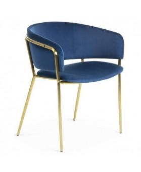 Silla vintage  Konic azul