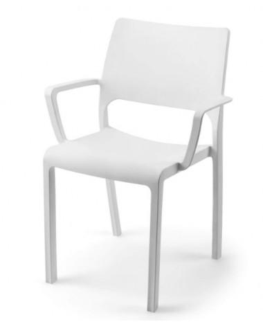 Conjunto mesa Montana y 2 sillas blancas