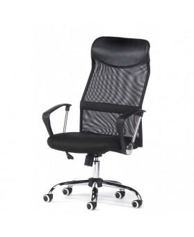silla oficina dirección  Gamo negra