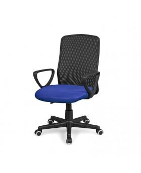 Silla oficina operativa Mesh azul