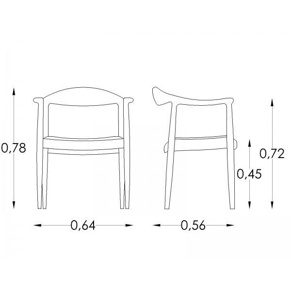 Atractivo Muebles De Silla De Acento Ronda Friso - Muebles Para ...
