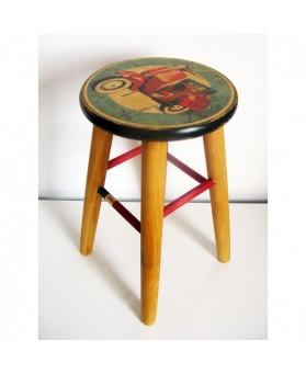 Taburete Diseño Vintage Vespa