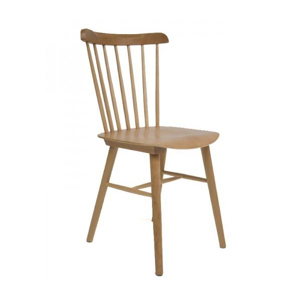 silla nrdica danesa con barras natural