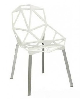 Silla Exterior One Blanco