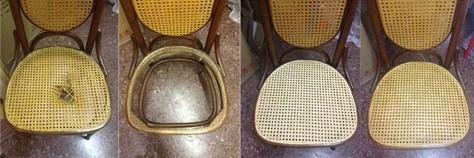 Sillas con rejilla reparaci n reutilizaci n - Reparacion de sillas de rejilla ...