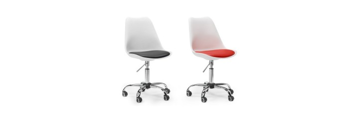 Silla de dise o con ruedas el blog de sillas muebles for Diseno de sillas modernas