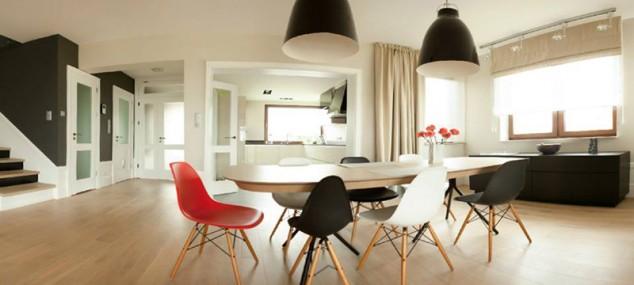 Diseño de interiores utilizando Sillas de diseño Eames