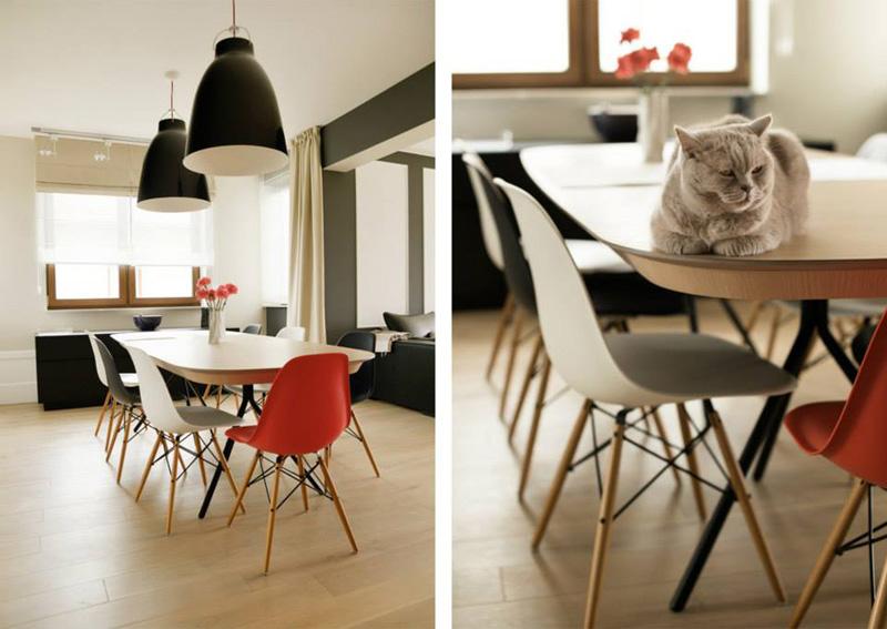 Diseo de interiores utilizando Sillas de diseo Eames El blog de