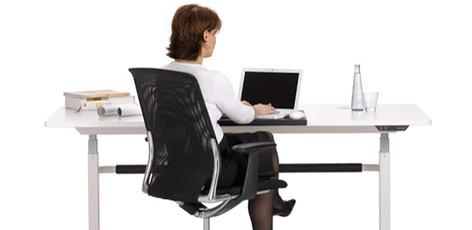 Silla Ergonómica: Postura ergonómica delante del ordenador