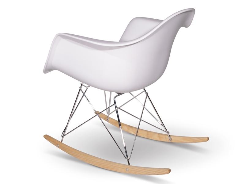 Silla Mecedora EAMES Rocking Chair Blanca