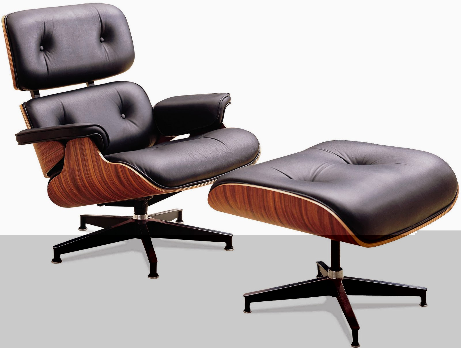 El sillon lounge chair de eames un cl sico muy actual el for Sillas y sillones de diseno