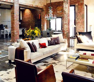 Decoracion industrial de lofts dise o de interiores el - Decoracion industrial online ...