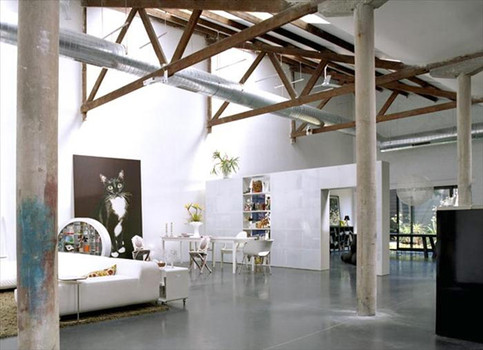 Decoracion industrial de lofts dise o de interiores el blog de sillas muebles sillas de - Ideas para loft ...