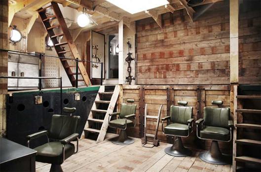 Decoracion industrial de lofts dise o de interiores el for Decoracion de casas estilo industrial