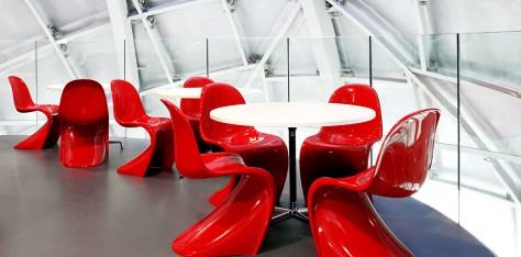 La silla Panton, Sillas de diseño de la historia