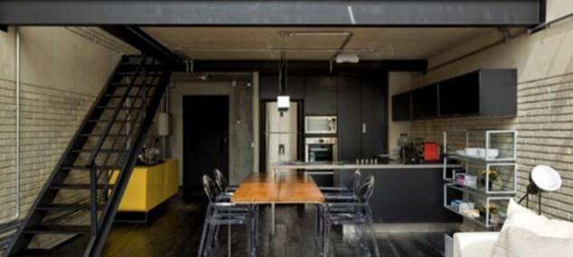 Decoracion industrial archives el blog de sillas muebles for Diseno de apartamentos industriales