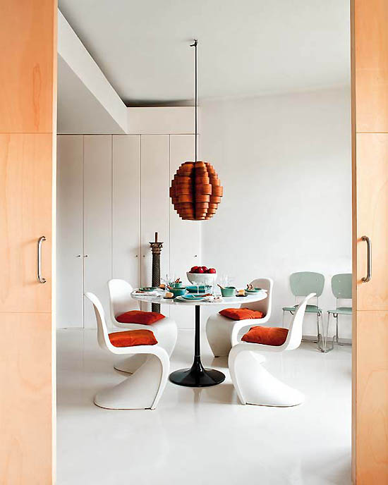 panton chair blanca