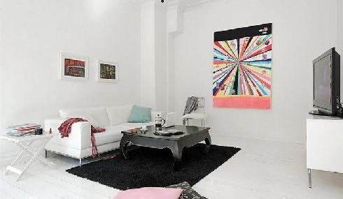 Interiorismo nordico para este apartamento en Goteborg