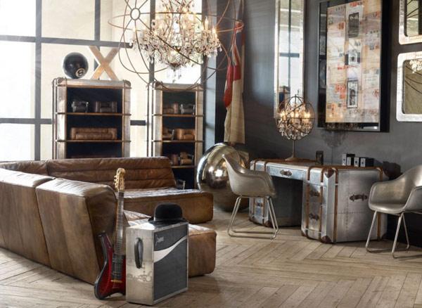 8 habitaciones vintage el blog de sillas muebles el blog - Decoracion etnica salones ...