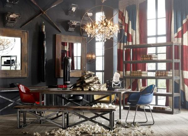 8 habitaciones vintage el blog de sillas muebles el blog de sillas muebles sillas de dise o - Retro wohnideen ...