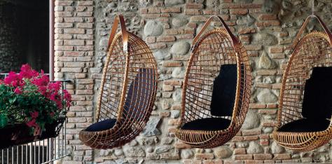 El ratan, un material idóneo para sillas exteriores