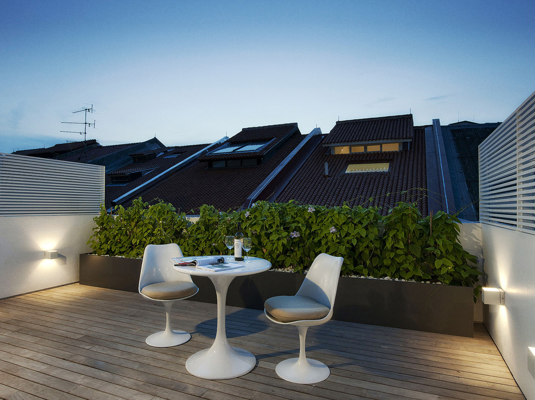 10 ideas de terrazas de dise o el blog de sillas muebles for Terrace house singapore
