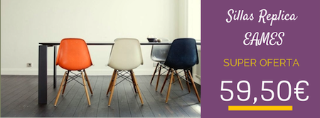 Mejor precio sillas replicas eames archives el blog de for Replicas muebles diseno