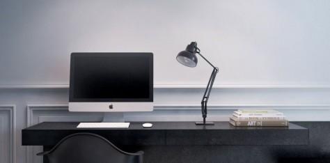 Un apartamento con diseño moderno