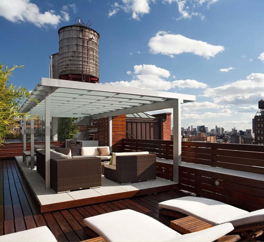 10 ideas de terrazas de dise o el blog de sillas muebles for Ideas para terrazas exteriores