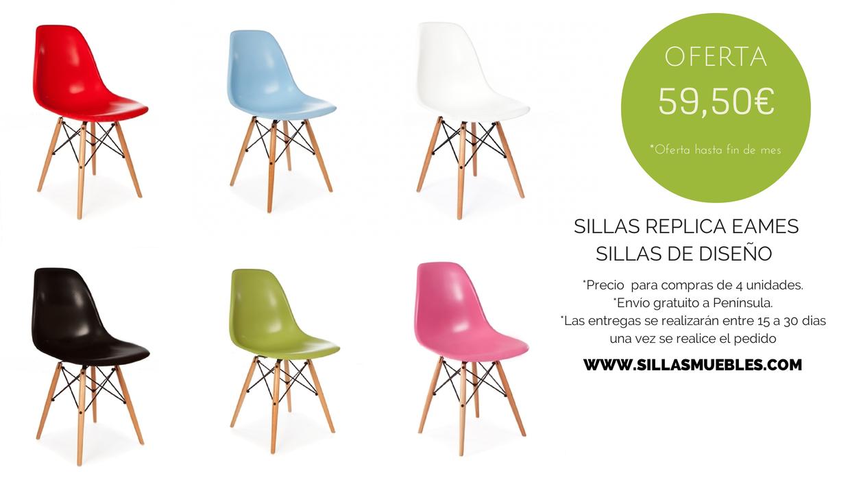 Este mes pon color a tus estancias con esta SUPER OFERTA en sillas ...