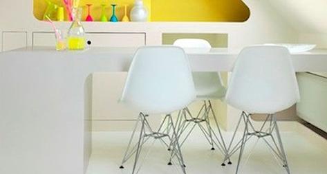 Ideas de decoración con muebles blancos