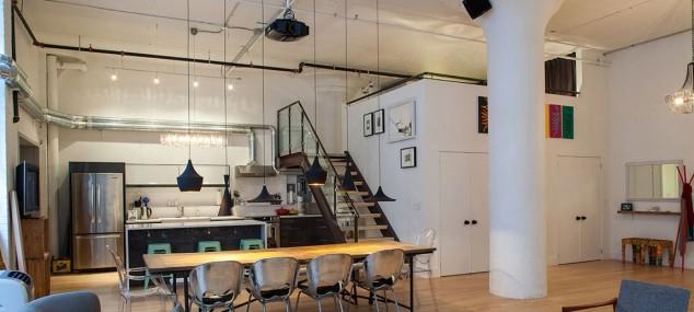 Diseño ecléctico para lofts