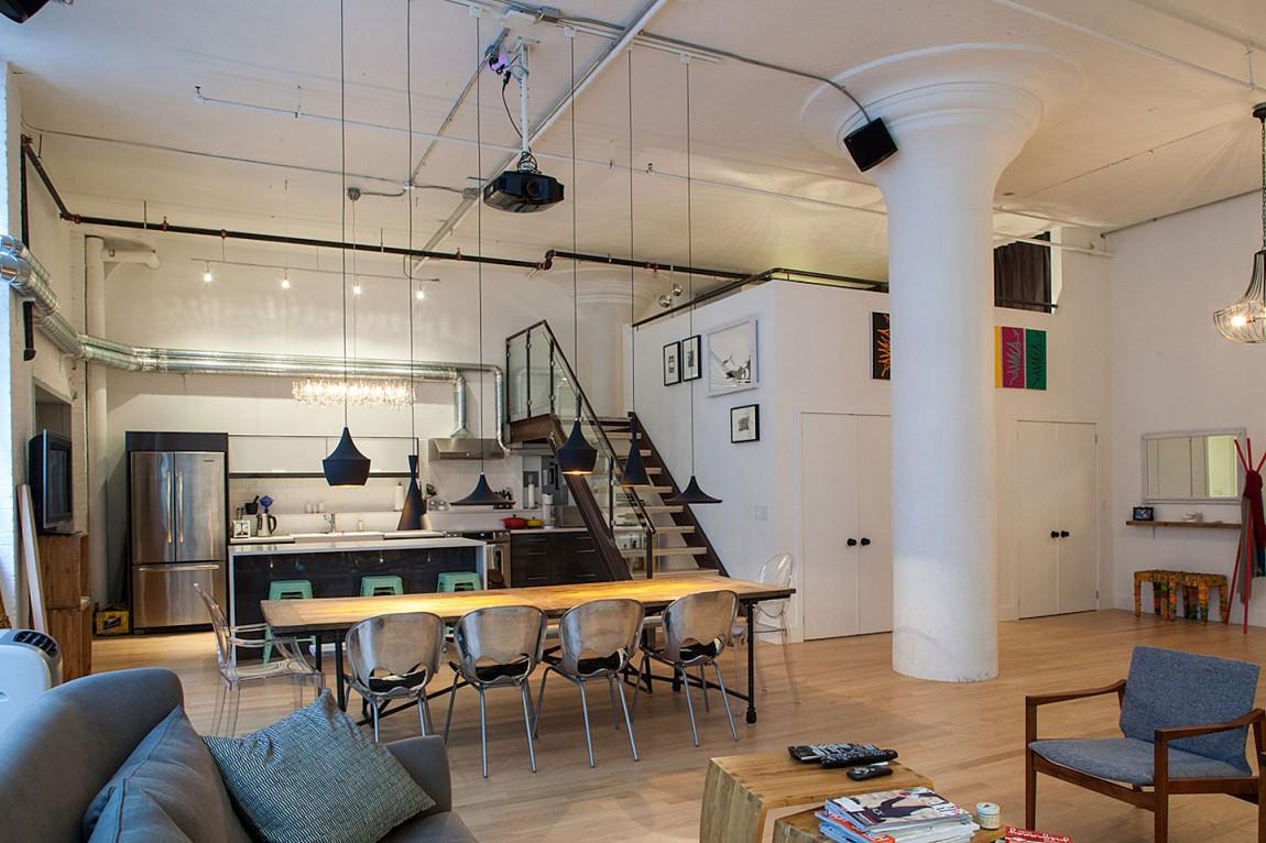 Dise o ecl ctico para lofts el blog de sillas muebles el for Disenadores de sillas modernas