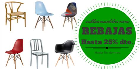 Rebajas en sillas réplica durante todo el mes de Julio El ... - photo#33