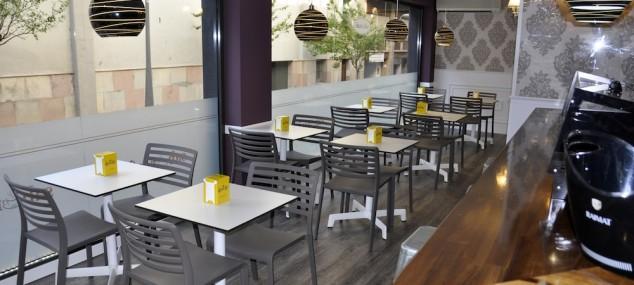 Sillas para cafeteria en el Sabor a Café
