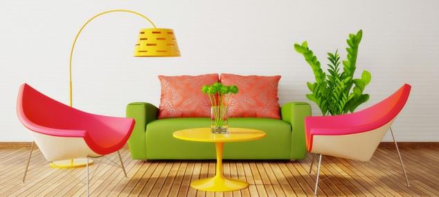Interiores de colores